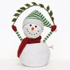 <strong>Roman, Inc.</strong> Musical Snowman Figurine with Garland