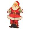 Roman, Inc. Flat Print Santa Figurine