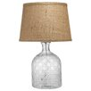 "Jamie Young Company Cut Glass Jar 19.5"" H Table Lamp with Empire Shade"