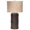 "Jamie Young Company Barrel 28.5"" H Table Lamp with Drum Shade"