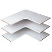 Easy Track Corner Shelves (Set of 3)