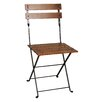 European Café Folding Side Chair