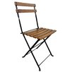 <strong>French Bistro European Café Folding Side Chair (Set of 2)</strong> by Furniture Designhouse