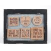 Wilco Love 6 Magnets Wall Décor