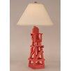 "Coast Lamp Mfg. Coastal Living Life Guard Chair 29.5"" H Table Lamp with Empire Shade"