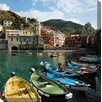 <strong>West of the Wind Outdoor Canvas Art</strong> Cinque Terre Photographic Print on Canvas