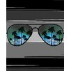 Kaufman Sales Aviator Sunglass Print Beach Towel
