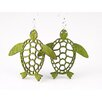 <strong>Green Tree Jewelry</strong> Sea Turtles Earrings