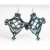 <strong>Green Tree Jewelry</strong> Fretwork Earrings
