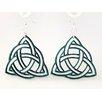 Green Tree Jewelry Trinity Knot Earrings