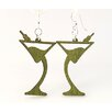 <strong>Green Tree Jewelry</strong> Martini Earrings
