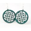 Green Tree Jewelry Celtic Sign Earrings