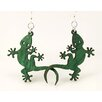 <strong>Green Tree Jewelry</strong> Gecko Earrings