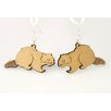 Green Tree Jewelry Beavers Earrings