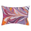 D.L. Rhein Marbled Madness Embroidered Decorative Pillow