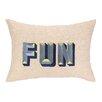 D.L. Rhein Fun Embroidered Decorative Pillow