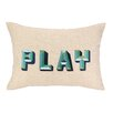 D.L. Rhein Play Embroidered Decorative Pillow