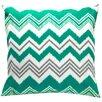 Elisabeth Michael Zig Zag Indoor / Outdoor Polyester Pillow