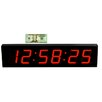 "Big Time Clocks Extra Large 4"" Numbers All Pro with Remote Control LED Clock"