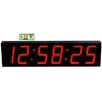 "<strong>Large 7"" Digit LED with Remote Control Clock</strong> by Big Time Clocks"