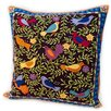 Rennie & Rose Design Group Susan Sargent Bird in Bush Pillow