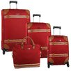 <strong>Anne Klein</strong> Vintage 4 Piece Luggage Set