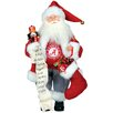 "Santa's Workshop NCAA 15"" Santa with Nutcracker"