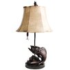 "Santa's Workshop Up From The Deep 25"" H Table Lamp with Empire Shade"