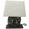 "Santa's Workshop Driftwood 21.5"" H Table Lamp with Rectangular Shade"