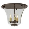 <strong>JVI Designs</strong> Greenwich 3 Light Semi Flush Mount