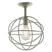 <strong>Globe 1 Light Semi Flush Mount</strong> by JVI Designs