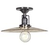 <strong>Union Square 1 Light Semi Flush Mount</strong> by JVI Designs