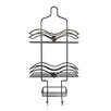 Elegant Home Fashions Shower Caddy with Circle Knobs