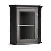 <strong>Madison Avenue Dark Corner Wall Cabinet</strong> by Elegant Home Fashions