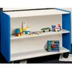 TotMate 1000 Series Preschooler Double-Sided Shelf Storage
