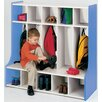TotMate 1000 Series 5-Section Cubbie Floor Locker