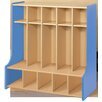 TotMate 2000 Series 5-Section Cubbie Floor Locker