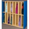 TotMate 2000 Series 16-Section Spacesaver Locker