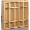 TotMate 2000 Series 5 Cubbie Preschool Locker