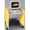 TotMate 1000 Series Single Computer Desk Mobile