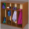 TotMate Vos System 8 Section Double Sided Toddler Locker