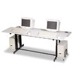 "<strong>Split-Level Computer 72"" W x 36"" D Training Table</strong> by Balt"