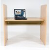 Balt Teak H Carrel Study Desk