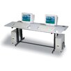 """<strong>Split Level Dual Station 72"""" W x 36"""" D Task Table</strong> by Balt"""