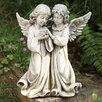 Joseph's Studio Angels with Bird Statue