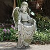 Joseph's Studio Irish Angel Decorative Bird Feeder
