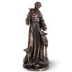 Joseph's Studio Saint Francis with Deer Figurine