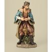 <strong>Painted Praising Wiseman Figurine</strong> by Joseph's Studio