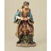 Joseph's Studio Painted Praising Wiseman Figurine