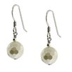 <strong>Moise</strong> Faceted Shell Pearl Drop Earrings